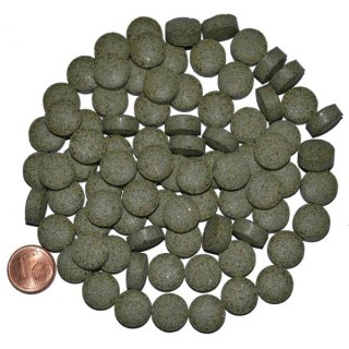 Hausmarke Futtertabletten grün Boden - 1 kg