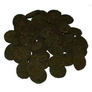 Hausmarke Wafer Chips - mit 6% Spirulina - 1 kg