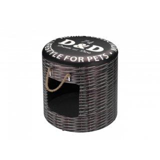 D&D Pet-box RATTAN L