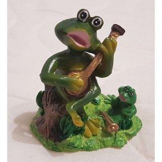 Aquariendekoration Frosch