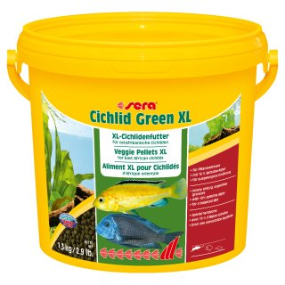 sera Cichlid Green XL 3800 ml