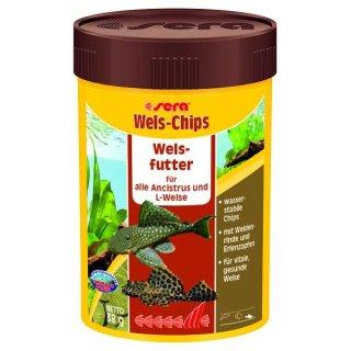 Sera Wels Chips - 100 ml