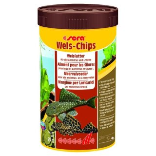Sera Wels Chips - 250 ml