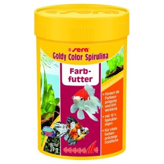 Sera Goldy Color Spirulina - 100 ml