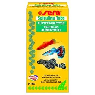 Sera Spirulina Tabs - 24 Tabletten