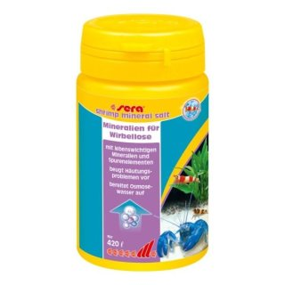 Sera Shrimps Mineral Salt - 105 g