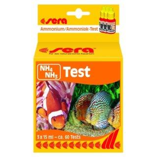 Sera Ammonium/Ammoniak (NH4/NH3) Test - 3x15 ml