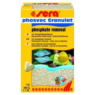 Sera Phosvec Granulat - 500 g, gegen Phosphat
