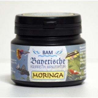 BAM Moringa - Softgranulat für Zierfische und Garnelen, fein, 100g