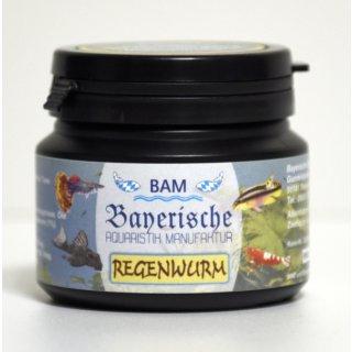 BAM Regenwurm - Softgranulat fein, 100g
