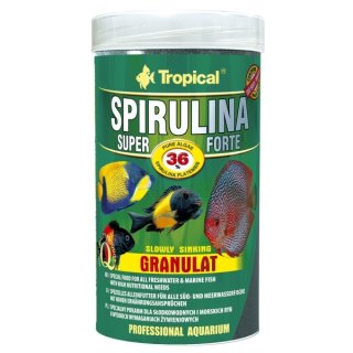 Tropical Super Spirulina Forte (36%) Granulat - 250 ml