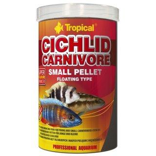 Tropical Cichlid Carnivore Small Pellet - 10 Liter