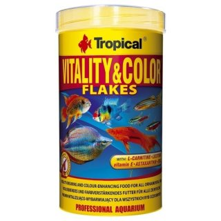 Tropical Vitality & Color Flakes - 1 Liter