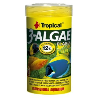 Tropical 3-Algae Flakes - 21 Liter