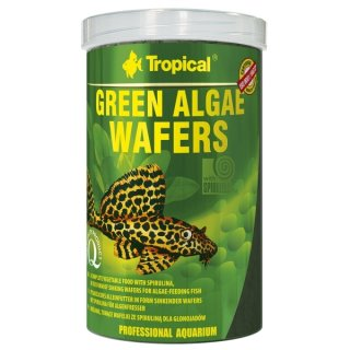 Tropical Green Algae Wafers - 1 Liter