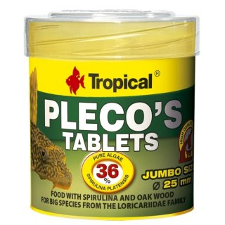 Tropical Pleco`s Tablets - 50 ml