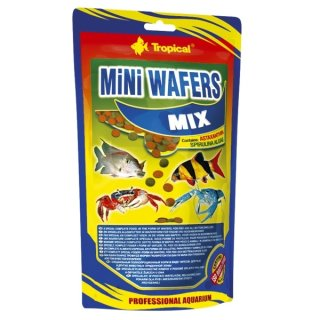 Tropical Mini Wafers Mix - 500g (Stand-)Beutel