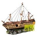 AQUA DELLA Segelschiff 37x12x28,5cm