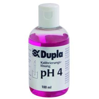 Dupla Kalibrierungslösung - pH 4 - 100 ml