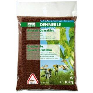 Dennerle Kristall-Quarzkies rehbraun - 5 kg