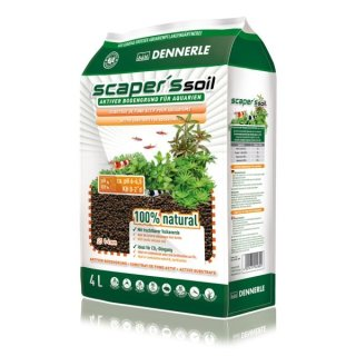 Dennerle Scaper`s Soil 1-4 mm, 4 Liter