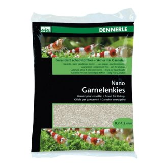 Dennerle Nano Garnelenkies Sunda weiß - 2 kg