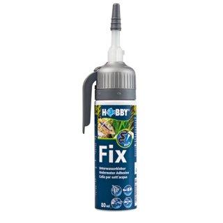Hobby Fix Unterwasserkleber schwarz, Kartusche, 80 ml