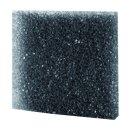 Hobby Filterschaum, grob schwarz, 50 x 50 x 5 cm