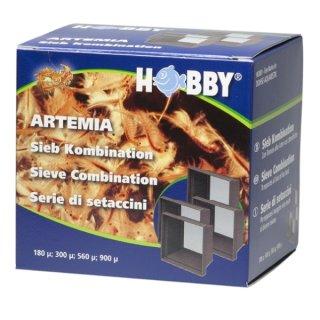 Hobby Artemia Siebkombination, 4 Siebe 120, 300, 560, 900 my Artemiasieb