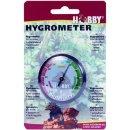 Hobby Hygrometer Feuchtigkeitsmesser für Terrarien