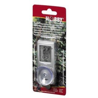 Hobby Digitales Hygrometer / Thermometer zum an die Scheibe kleben