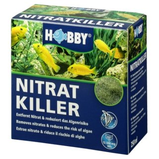 Hobby Nitrat-Killer 250 ml gegen Nitrat und vorbeugend gegen Algen