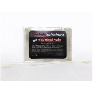Shirakura White Mineral Powder - 10 g - Plastikbeutel